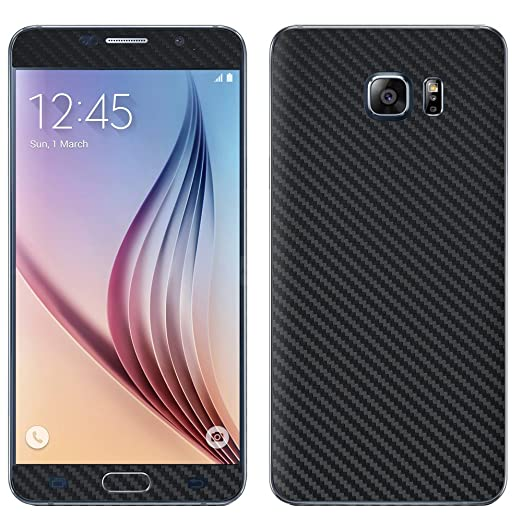 outlet store b915d b7252 Decalrus - Samsung Galaxy Note 5 BLACK Texture Carbon Fiber skin skins  decal for case cover wrap CFgalaxyNote5Black