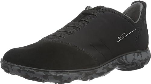 Modernes Design Geox Herren U Nebula F Sneaker Schwarz Black