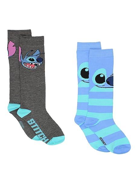 0fdc51742e3 Lilo   Stitch 2 pack Knee High Socks (9-11 (Shoe  4-10)