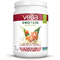 Vega Protein & Greens Salted Caramel (20 Servings, 600g) - Plant Based Vegan Protein Powder