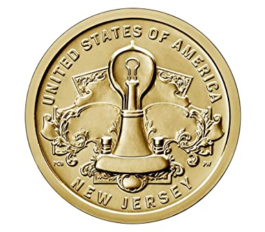 2019 P D /& S AMERICAN INNOVATION $1 New Jersey 2 BU coins /& 1 Reverse PF69