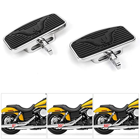 Floorboards with Angle Adjustable Function Motorcycle Front & Rear Foot Peg  for Harley XL883 XL1200 X48 72