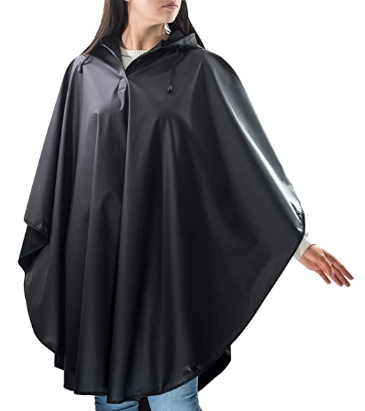0fb7ff4a9afc8 Rain Poncho for Adults Reusable - Packable Poncho for Men and for Women Adults  One Size