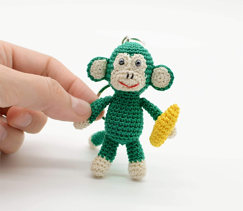 34+ Wonderful Free Crochet Monkey Pattern - crochetnstyle.com | 1302x1500