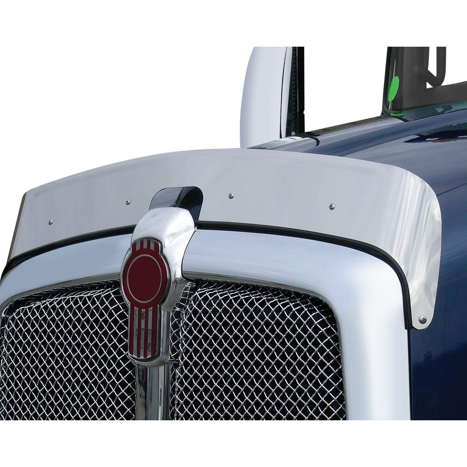 United Pacific Kenworth T660 Bug Deflector, Stainless Steel by United Pacific Chrome
