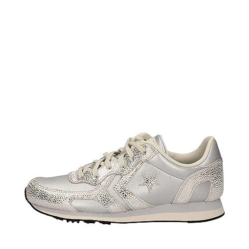 CONVERSE 556819C Silber Granit Turnschuhe Schuhe