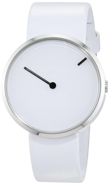 Jacob Jensen Herren-Armbanduhr Analog Quarz Leder 32253