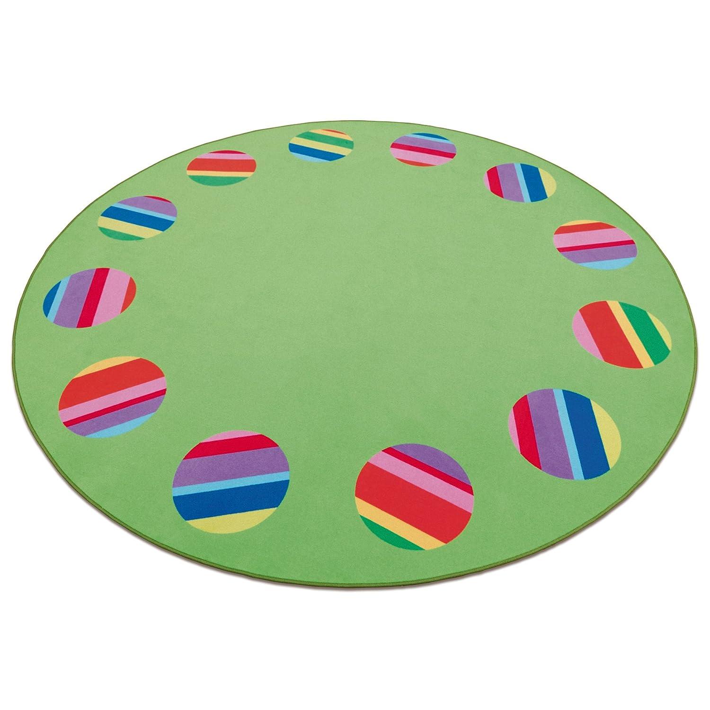 Erzi Teppich Circelino - großer Spielteppich - Spielmatte