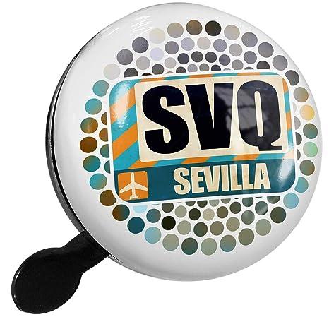 Amazon.com: NEONBLOND Bike Bell Airportcode SVQ Sevilla ...