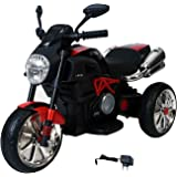 Pa Toys Ducatti Diavel Battery Operated Sports Bike For Kids - 6688 (Red)