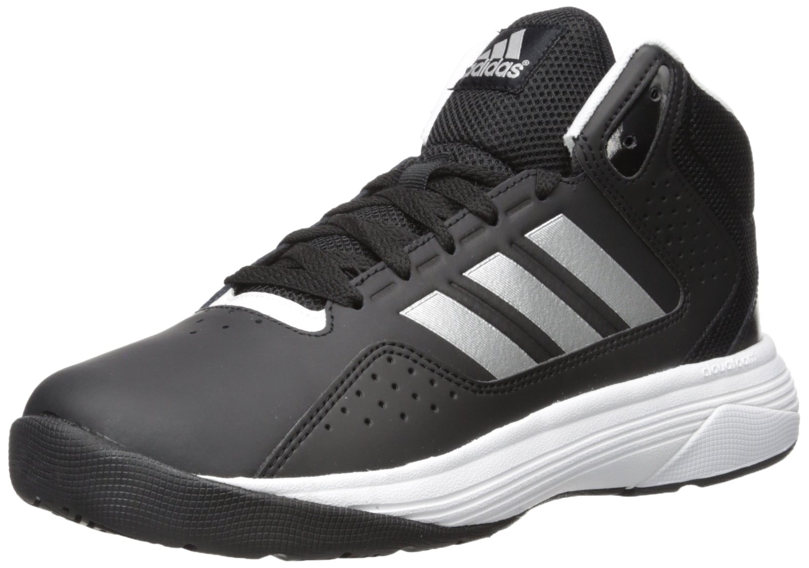 big sale 00756 8c467 adidas NEO Mens Cloudfoam Ilation Mid Wide Basketball Shoe product image