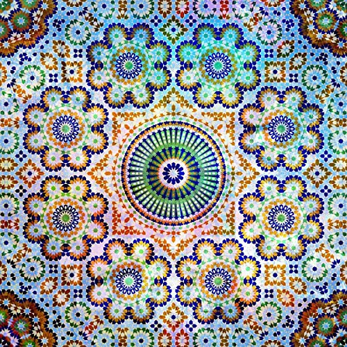 Salty & Sweet Flowered Mosaic Artwork