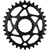 Absolute Black Race Face Oval Cinch Direct Mount Traction Chainring