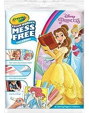 Crayola 75-2496 Disney Princess Colour Wonder Coloring Pad & Markers Set