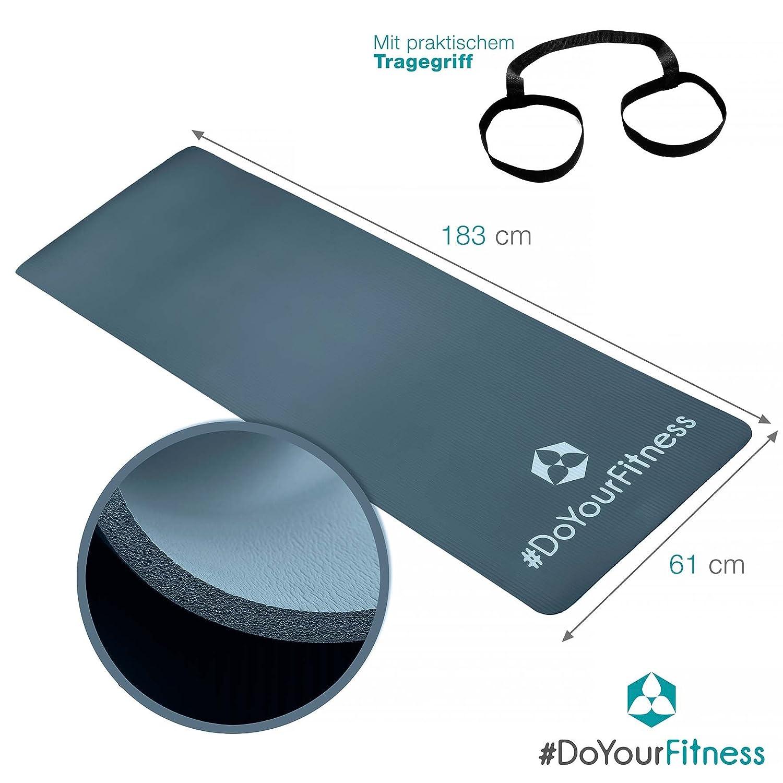 Doyourfitness fitnessmatte yogini ideal für pilates gymnastik und ...