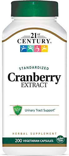 21st Century Healthcare, Inc Cranberry Extract Capsules, 200 Count