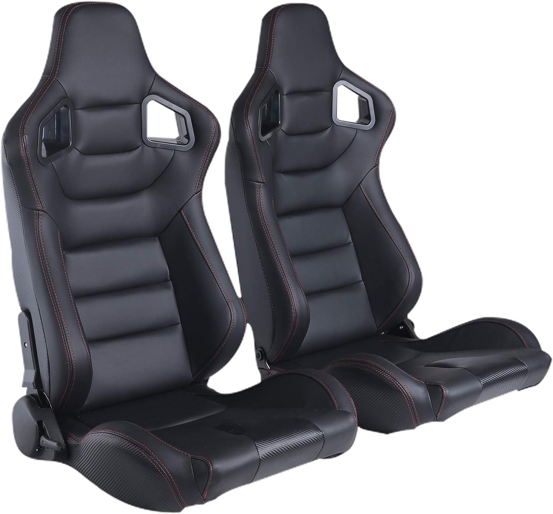 赛拉米PVC皮革赛车桶座椅