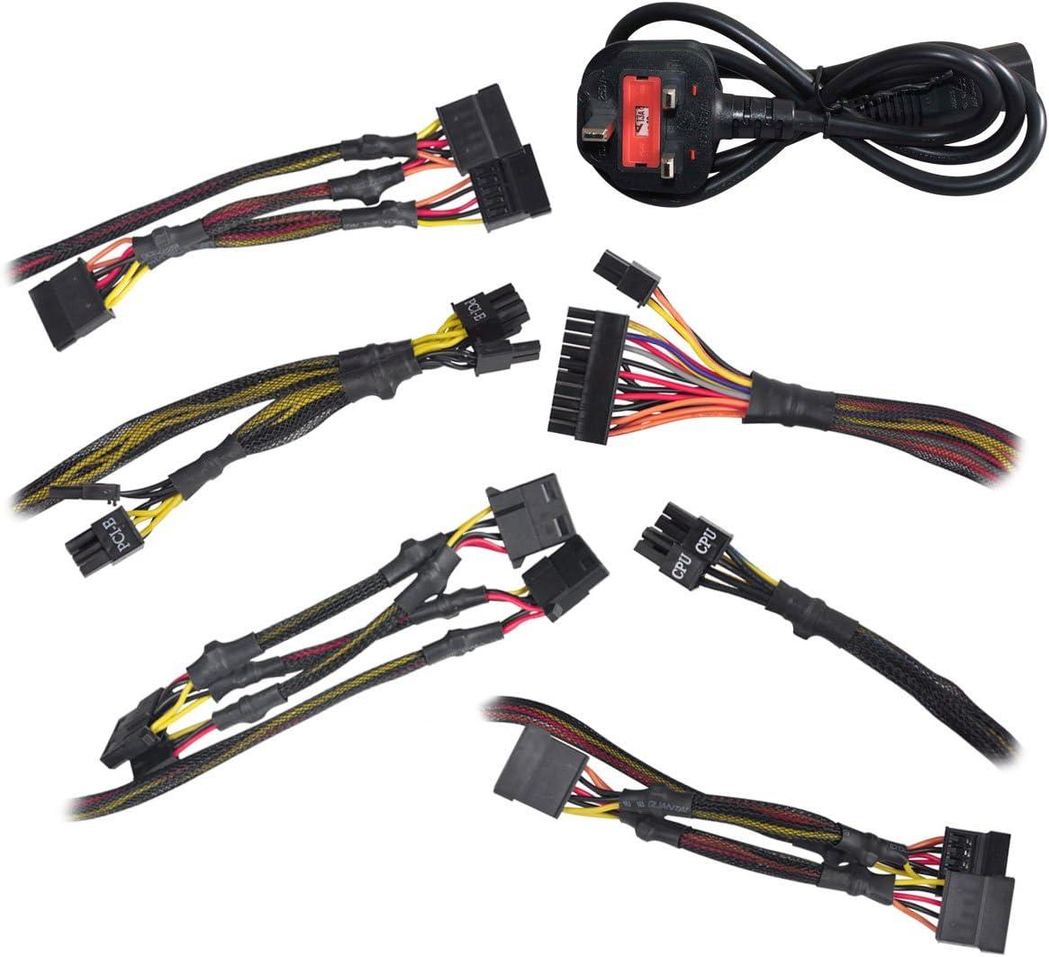 80+ WHITE 430W 3 Year Warranty EVGA 430 W1 Power Supply 100-W1-0430-K3