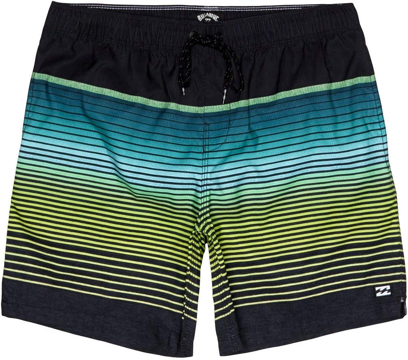 BILLABONG All Day Stripe LB Pantalones Cortos para Nadar y Surfear Hombre