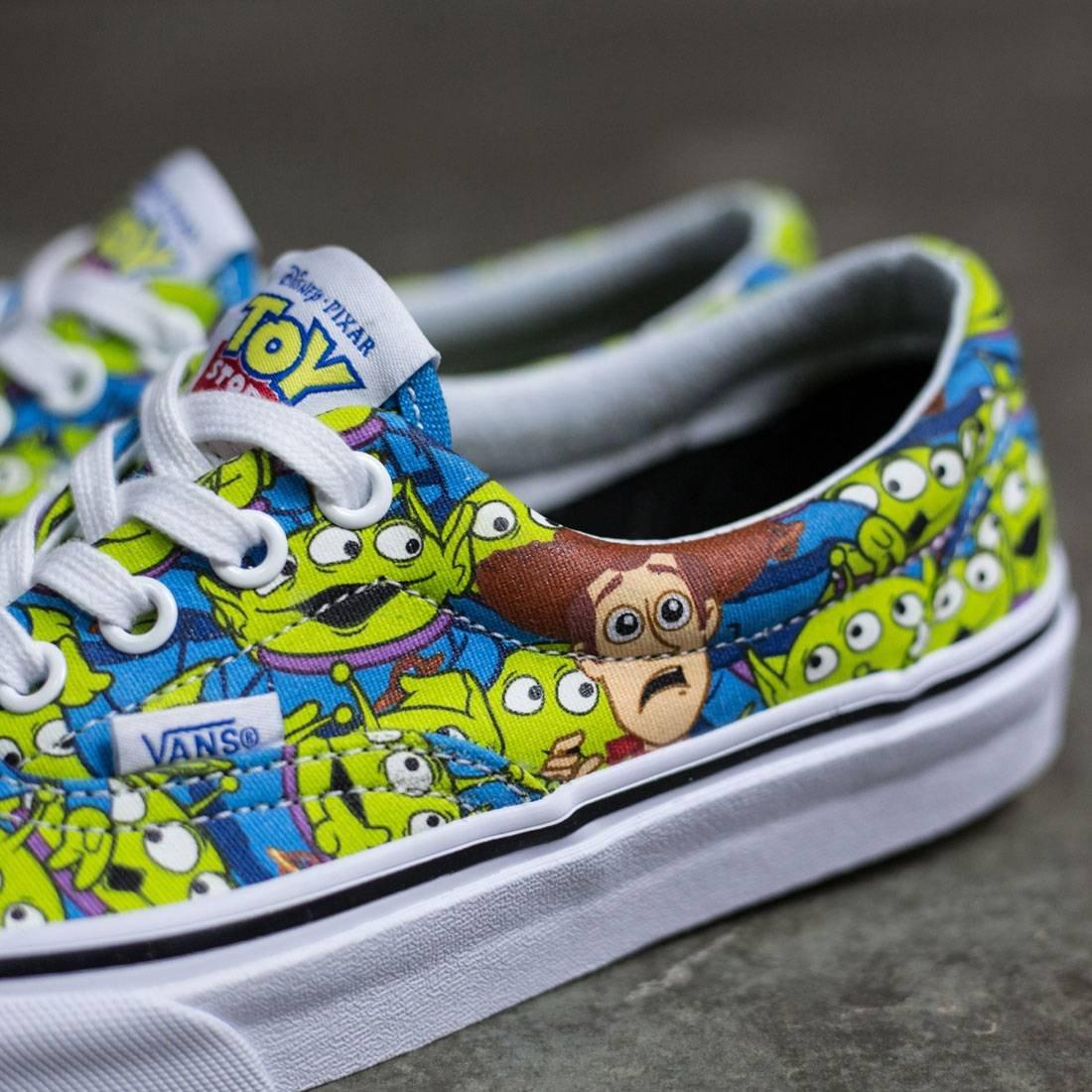 d30850bbeb Galleon - Vans Womens Era Toy Story Fashion Skateboarding Shoes Green 5.5  Medium (B