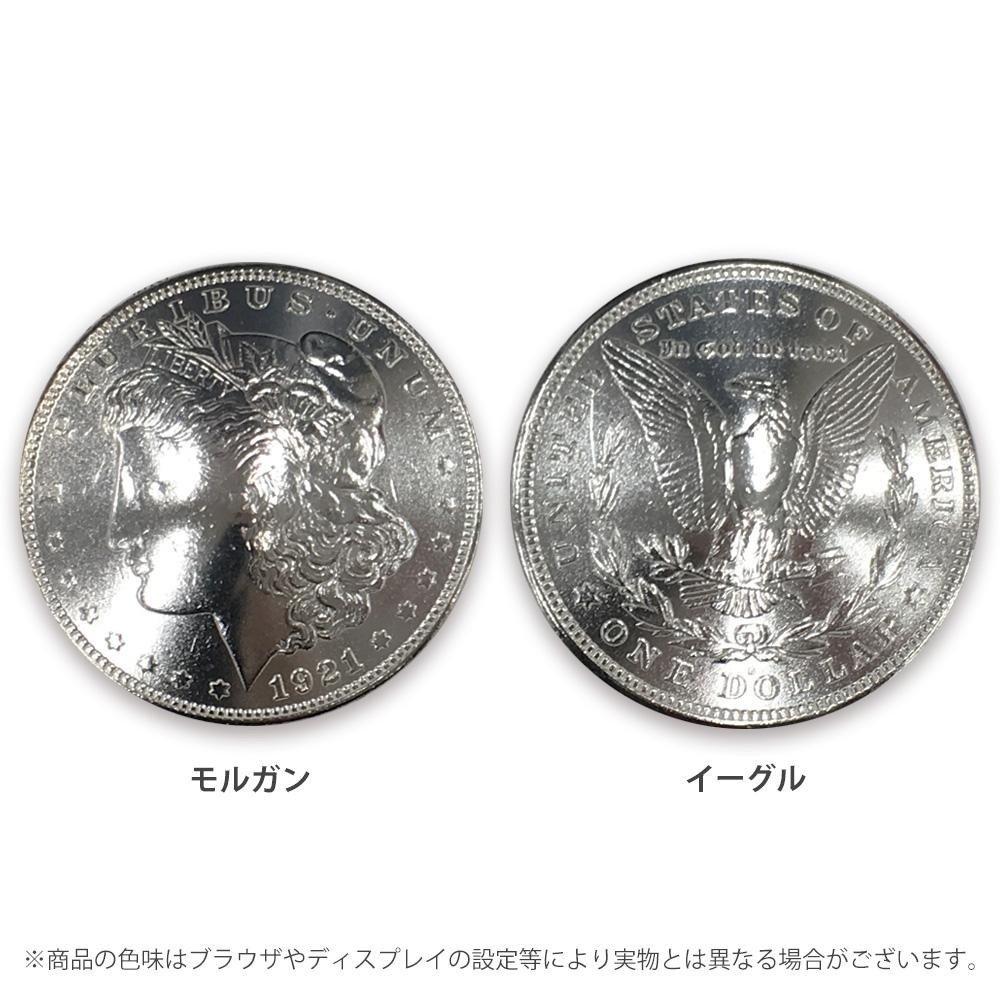 クラフト社 USコインコンチョ 1ドル ■2種類の内「モルガン1177-05」を1点のみです B07PXXQXS8