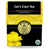 Cat's Claw Bark Tea - Wild Harvested, Kosher, Caffeine-Free, GMO-Free - 18 Bleach-Free Tea Bags