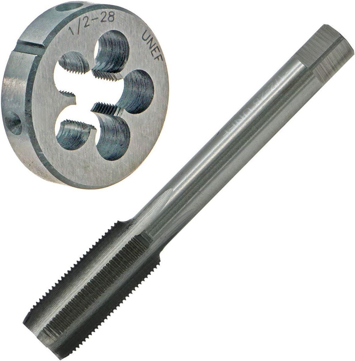 1//2/'/' 28 UNEF Right Hand Thread Tap /& Die Set HSS Gunsmithing Cutting Tool RH
