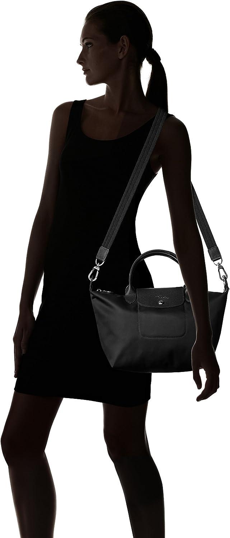 Longchamp Women's Le Pliage N??o Sac Port?? Main Top Handle, Black