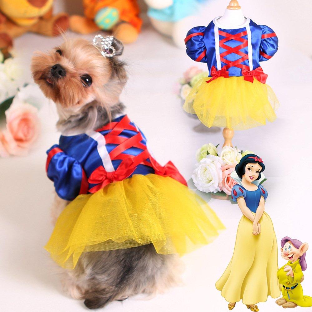 Colorfulhouse Princess Puppy Dress Small Pet Apparel Teddy Dog Skirt (M)
