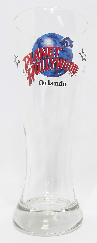 Orlando Planet Hollywood Souvenir Pilsner Beer Glass