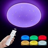 ANTEN LUNA | Plafon LED de Techo 36W Φ40cm Redondo | Regulable con Control…
