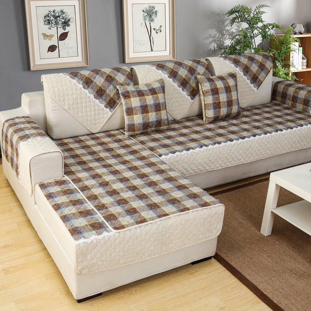 Weiwei Sofaüberzug für Sofakissen, 4 Jahreszeiten, einfach, Rutschfest, für Wohnzimmer und Sofa, J, 70cm150cm B0793T5WFY Kopfkissenbezüge