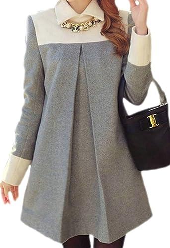 Frieda Fashion - Abrigo - trenca - Opaco - para mujer