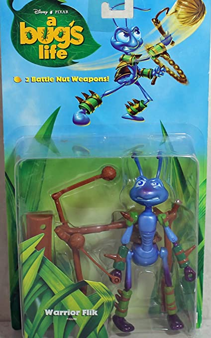 Amazon Com A Bug S Life Flik Warrior From Action Figure Toys Games