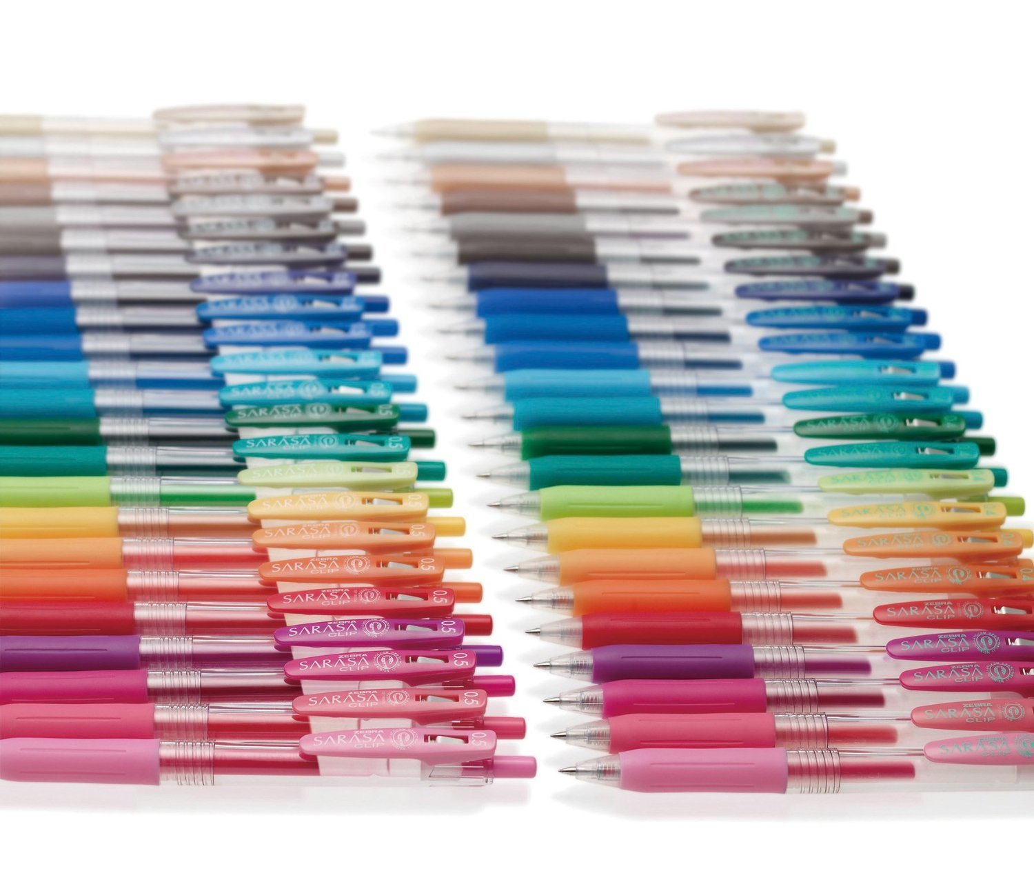Zebra Gel Ballpoint Pen Sarasa Clip 0.5 Jj15-20ca 20 Color Set by Zebra (Image #2)