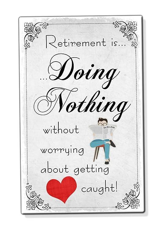 ES de jubilación no hacer nada Funny Man Dad Tarjeta de ...