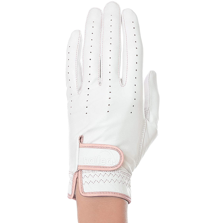 Elegance レディース ゴルフグローブ ブラッシュド XLサイズ (サファイア左 Mサイズ)   B07KNZ4H25
