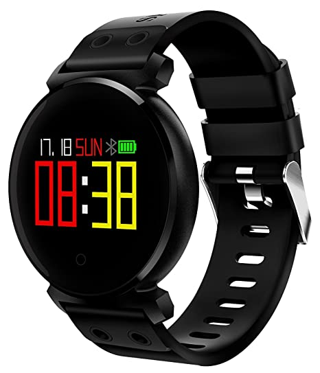 Montreit Activity Tracker Watch Waterproof with Pedometer, Heart Rate Monitor, Sleep Monitor and Call Reminder Functions for Android & iOS Smart Watch ...