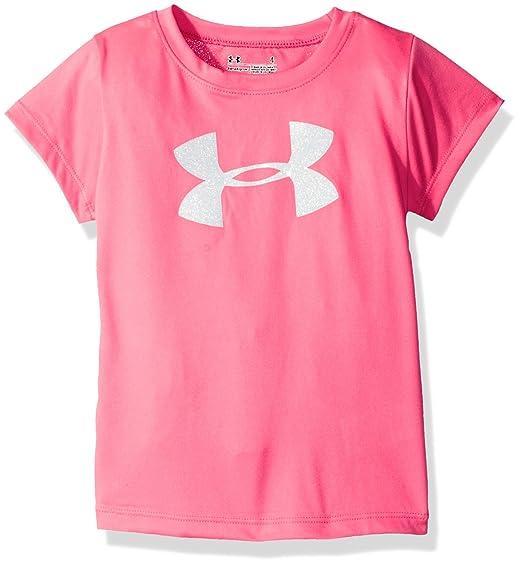 1bc2ee083c Under Armour Girls' Wordmark Logo Short Sleeve Tee