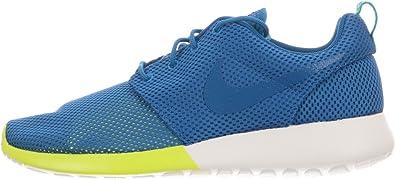 Marte Pronunciar divorcio  Amazon.com   Nike Roshe Run Men's Sneakers Military Blue/Turbo Green/Summit  White 511881-400   Road Running