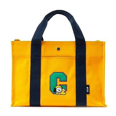 f093853d4a3 BT21 Official Merchandise for Line Friends - Character Canvas Messenger  Tote Bag
