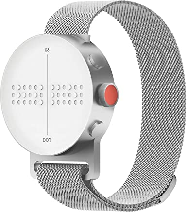 Amazon.com: Dot reloj – Braille y táctil Smartwatch (tamaño ...