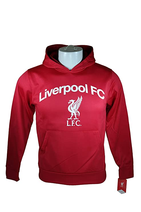 22d23223daf Amazon.com   Liverpool F.C. Jacket Sweatshirt Official Soccer Youth ...