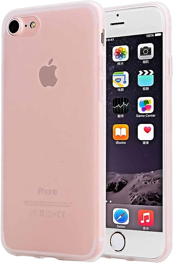 iPhone 7 Case Matte Pink Ultra Thin