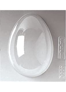 Paderno World Cuisine Single Imprint 8.625-Inch Polypropylene Chocolate Mold, Egg