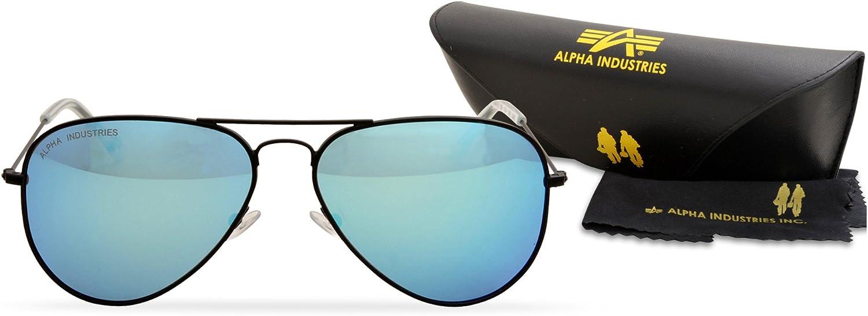 Alpha Industries 158904_93 BlackBlue: : Bekleidung