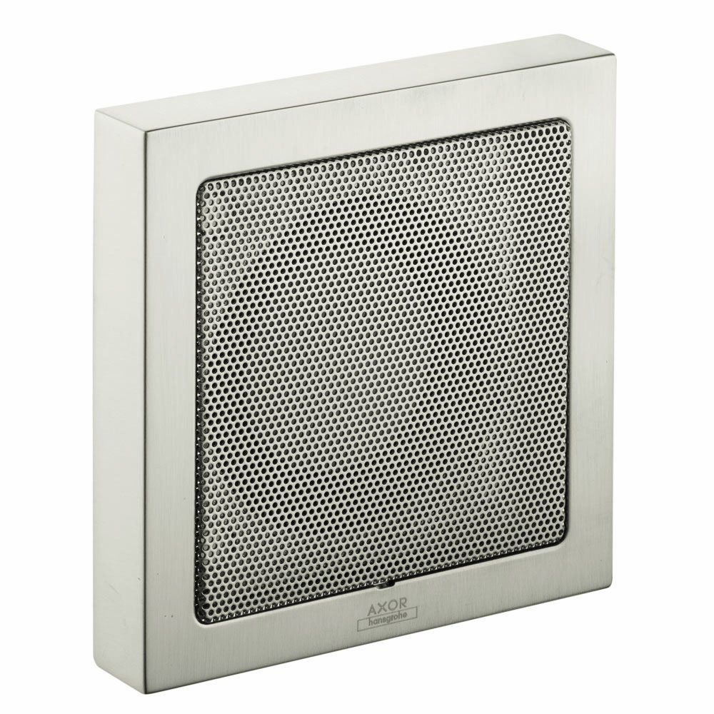 Hansgrohe 40874821 Axor Starck Speaker, Brushed Nickel