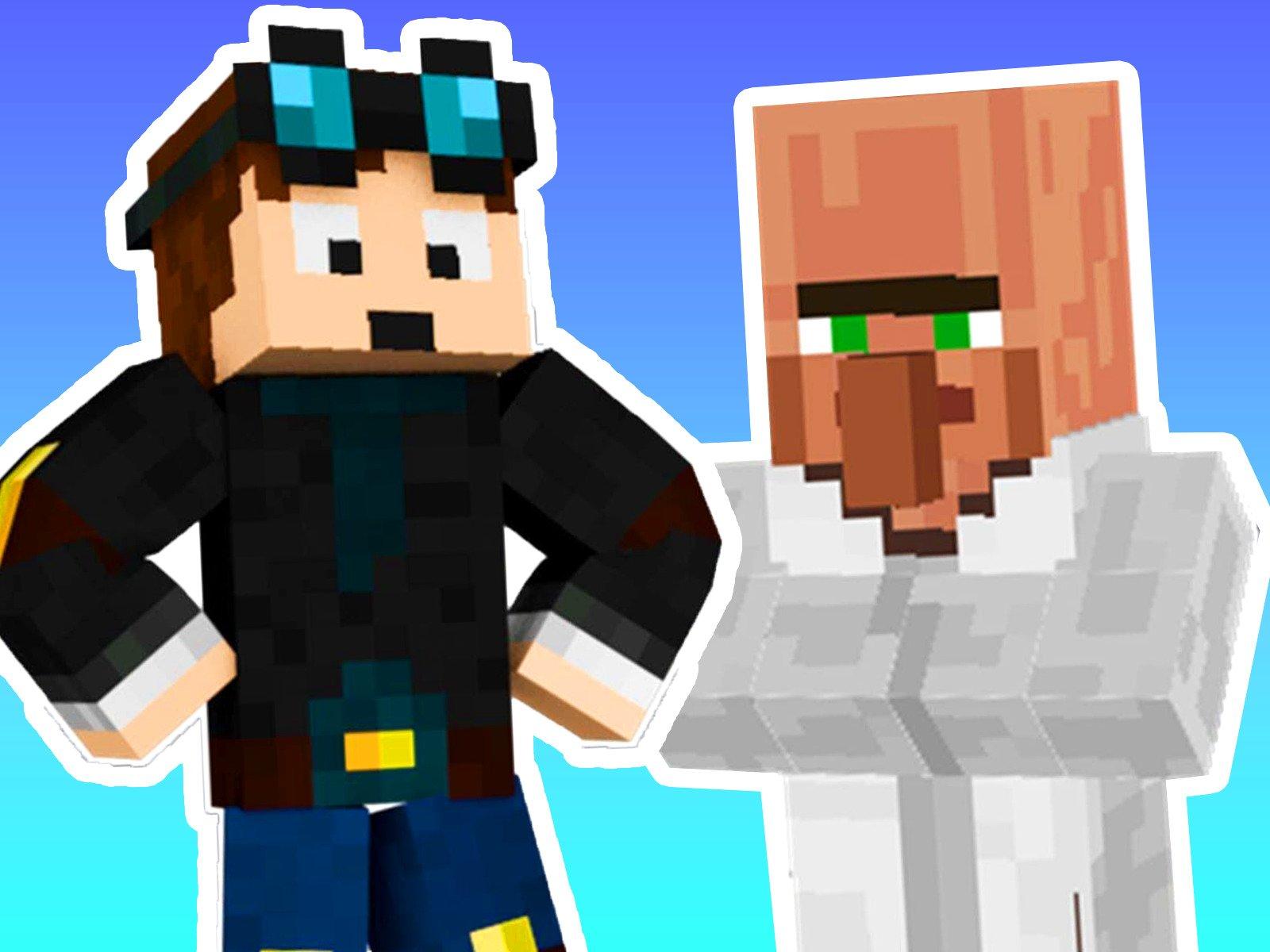 Amazon com: Watch Clip: Lucky Blocks Rescue! (Minecraft