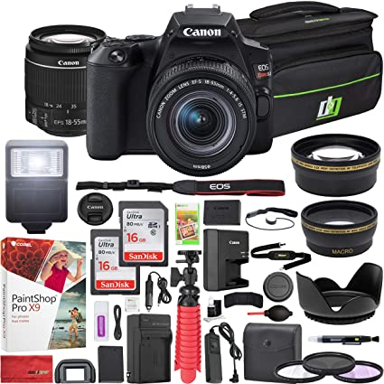 Amazon.com: Canon EOS Rebel SL3 DSLR 24,1 MP Cámara 4K con ...