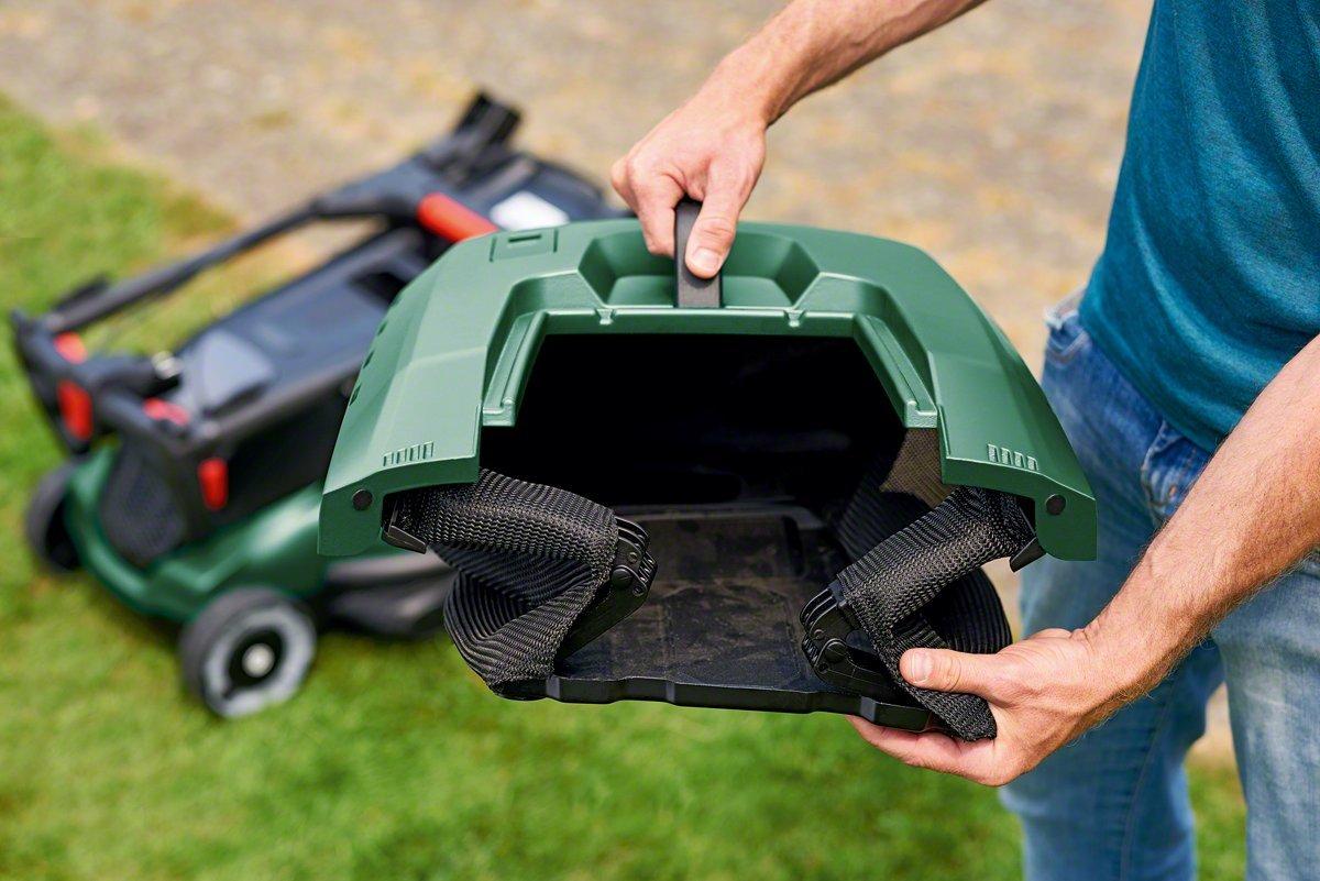 Bosch Cortacésped eléctrico AdvancedRotak 750, 1700W, 750m², caja colectora de 50 l, caja de cartón